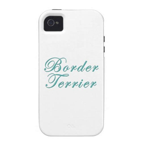 Border Terrier iPhone 4/4S Cover