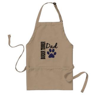 Border Terrier Dad 2 Adult Apron