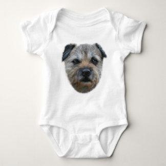 Border Terrier dog Baby Bodysuit
