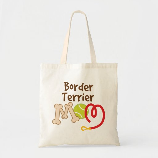 Border Terrier Dog Breed Mom Gift Bags