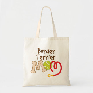 Border Terrier Dog Breed Mom Gift Tote Bag