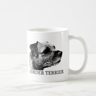 Border Terrier Drawing Coffee Mug