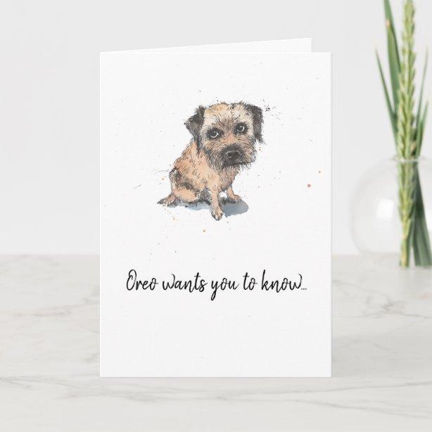 border terrier gifts  gift ideas  zazzle uk