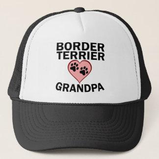Border Terrier Grandpa Trucker Hat
