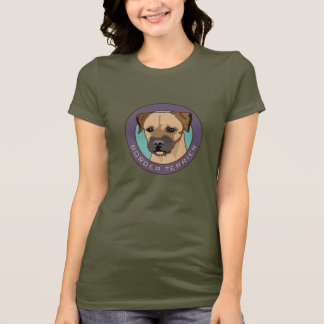 Border Terrier Head Study T-Shirt