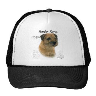 Border Terrier History Design Hats