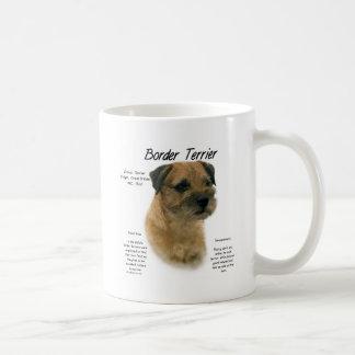 Border Terrier History Design Coffee Mugs