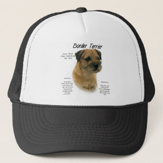 Border Terrier History Design Trucker Hat