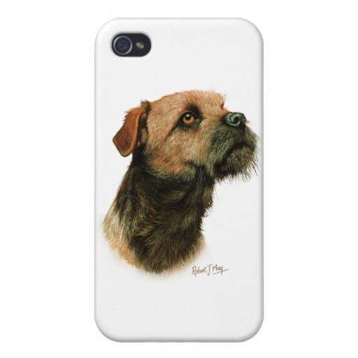 Border Terrier Cases For iPhone 4