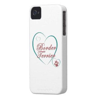 Border Terrier Love Case-Mate iPhone 4 Case