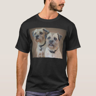 Border Terrier Mens T-Shirt