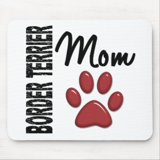 Border Terrier Mom 2 Mouse Pad