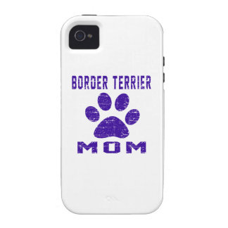 Border Terrier Mom Gifts Designs iPhone 4 Cases