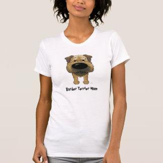 Border Terrier Mom T Shirt
