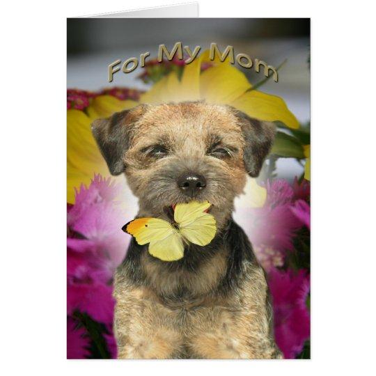 Border Terrier Mum Cards
