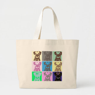 Border Terrier, part II Large Tote Bag
