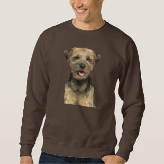 Border Terrier Portrait Apparel Sweatshirt
