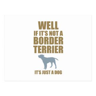 Border Terrier Post Cards