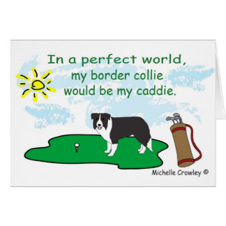 BorderCollie Greeting Card