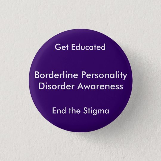 Borderline Personality Disorder Awareness, End  3 Cm