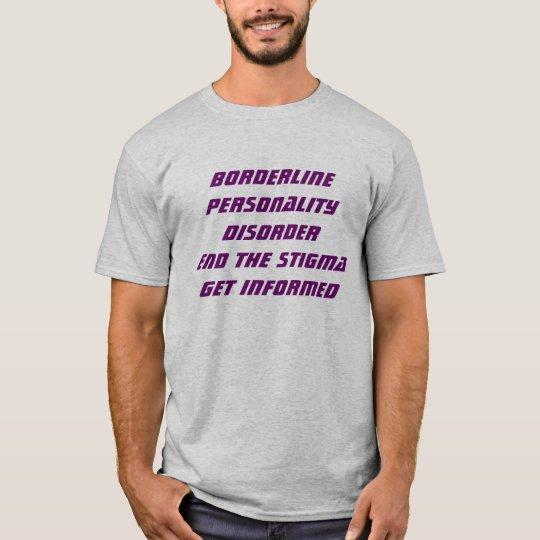 Borderline Personality Disorder Short Sleeve Te T-Shirt