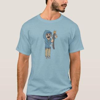 Bordzy Burning Tshirt denim blue