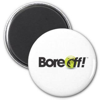 Bore Off 6 Cm Round Magnet
