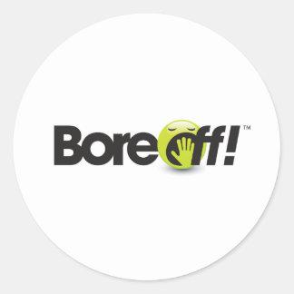 Bore Off Sticker