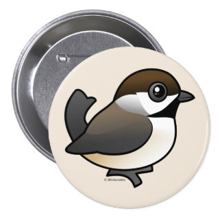 Boreal Chickadee 7.5 Cm Round Badge