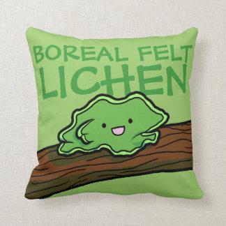 Boreal Felt Lichen Pillow Cushions