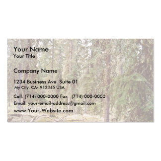 Boreal Forest floor Business Card Templates