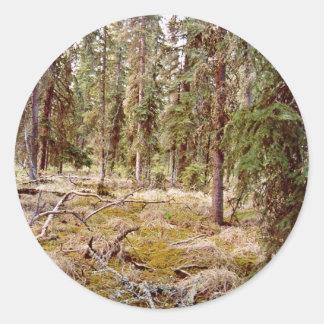 Boreal Forest floor Sticker