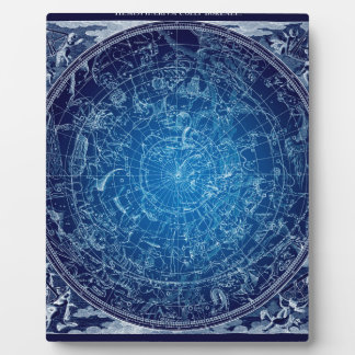 Boreal Hemysphere Sky constellations Plaque
