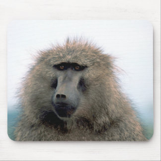 Bored Baboon Mouse Pad