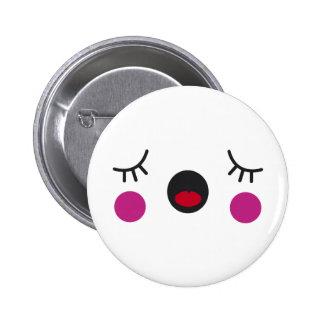 Bored Face Pins