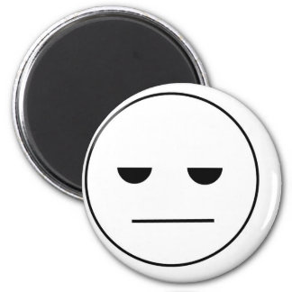 Bored Face Refrigerator Magnets