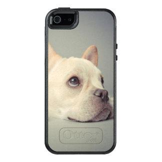 Bored French Bulldog OtterBox iPhone 5/5s/SE Case