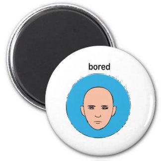 bored fridge magnets