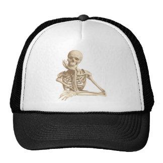 Bored Skeleton Mesh Hat