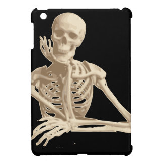 Bored Skeleton iPad Mini Cases