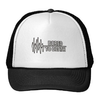 BORED TO DEATH TRUCKER HATS
