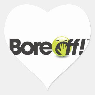 Boreoff Heart Sticker