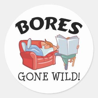 Bores Gone Wild Sticker