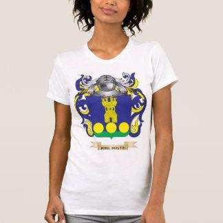 Borg-(Malta) Coat of Arms (Family Crest) T-Shirt