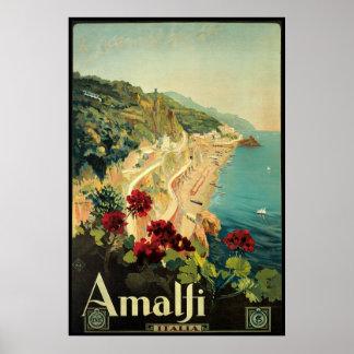 Borgoni Amalfi Campania Italy Poster