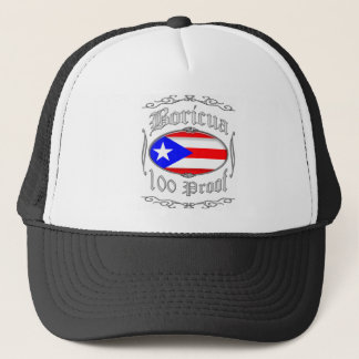 Boricua 100 Proof2 Trucker Hat
