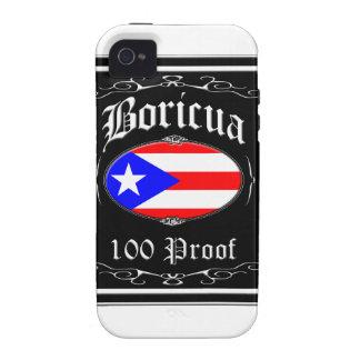 Boricua 100 Proof iPhone 4 Covers