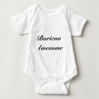 Boricua Awesome Baby Bodysuit