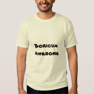 Boricua Awesome Quote Men's T-shirt