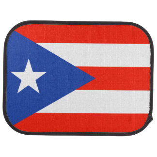 Boricua Bandera Puerto Rican Flag for Julio Car Mat